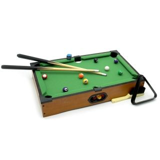 Executive Suite Tabletop Pool Table, from HomeWetBar.com