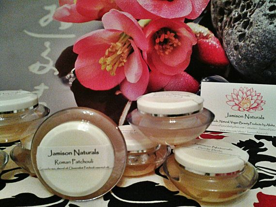 Roman Patchouli All Natural Handmade Body Balm by JamisonNaturals