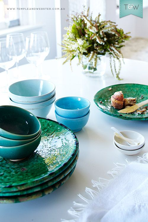 Moroccan ceramics in the Sydney home of Cassandra Karinsky of Kulchi on the Temple & Webster blog.