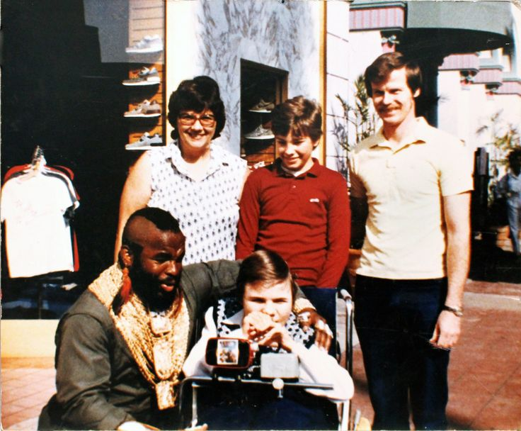 Laura Cole was a passionate volunteer who founded The Children's Wish Foundation of Canada. The very first wish granted was a wish to meet Mr. T! All thanks to Laura Cole. #NationalVolunteerWeek #Mr.T #WishesWorkWonders