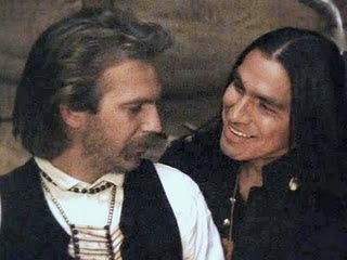"John James Dunbar and Wind in His Hair / ""Dances With Wolves"", Kevin Costner"