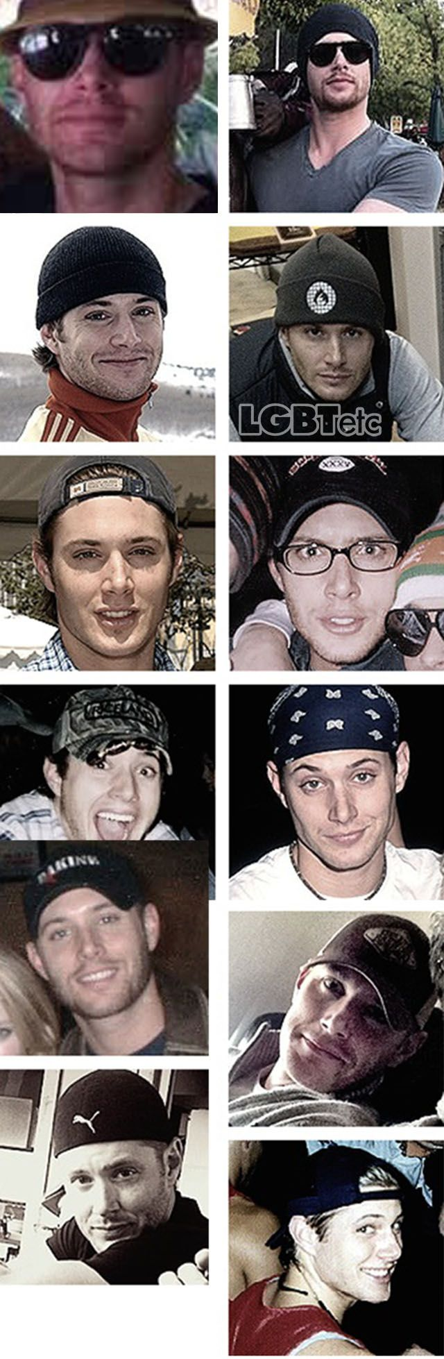 Jensen Ackles, ladies and gentlemen; if you don't love him than you're Sammy-season-six and have no soul