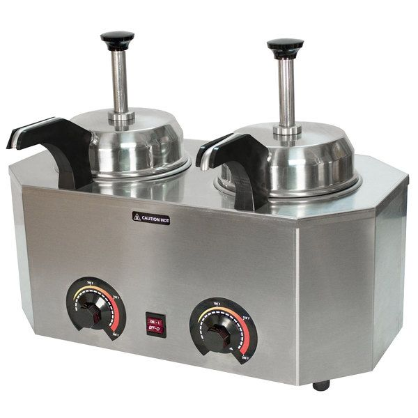 Paragon 2029c Pro Deluxe Dual 3 Qt Warmer With 2 In 2020 Hot