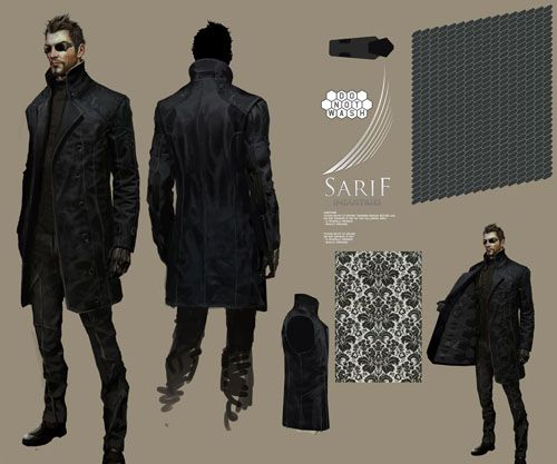 Eidos demonstrating how it is done. [Credible, Sophisticated, Unexpected: The Fashion of Deus Ex] [Designing Women]