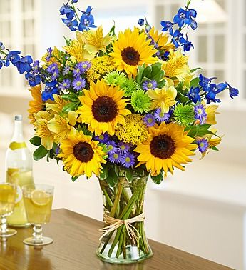 Summer European Floral Arrangement. Starting at $44!