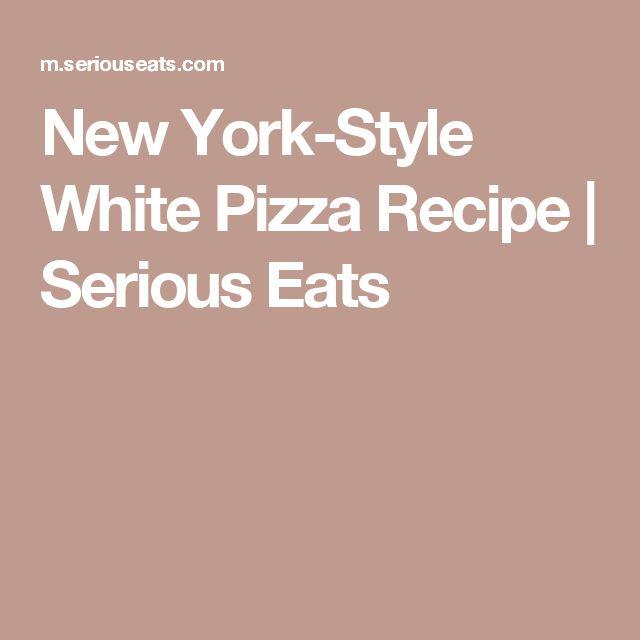 25+ best White Pizza Recipes ideas on Pinterest | Garlic ...