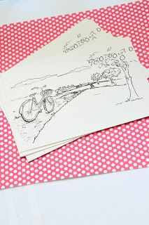 Enjoy the Ride - bicycle theme party