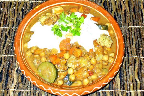 Süsskartoffel-Suppe afrikanisch. Nachkochen!