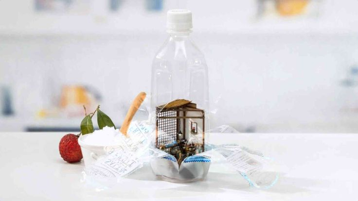 This Stop Motion Animation Fits An Entire Kitchen Inside A Water Bottle | The Creators Project