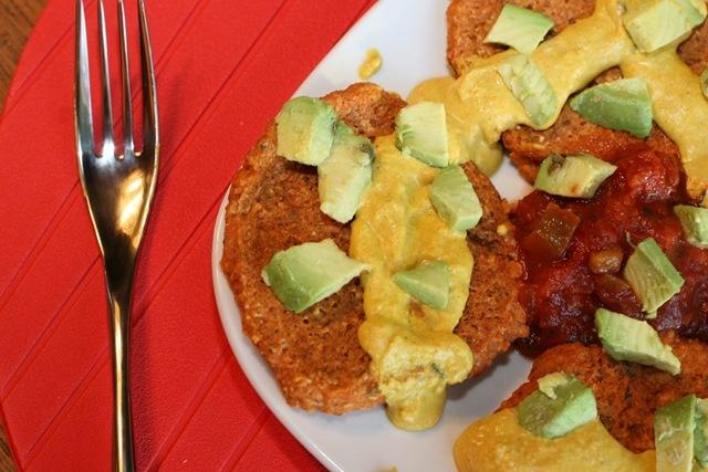Mini Pizza Pancakes | Vegan | Pinterest