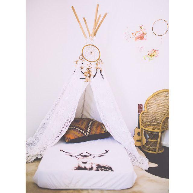 Des lits cabane maison ou tipi pour la chambre d 39 enfant for Recherche decoration maison
