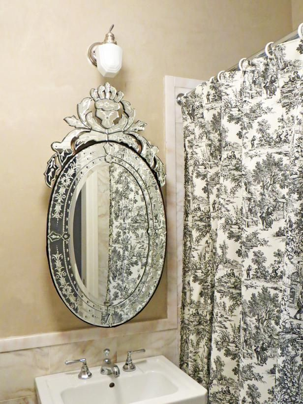 That Mirror Looks Like A Big Diamond Ring!
