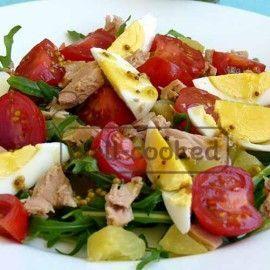 Как приготовить салат Нисуаз