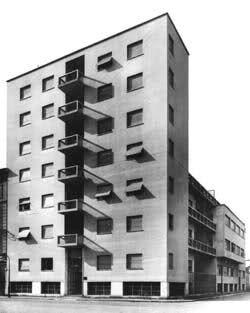Giuseppe Terragni - Casa Rustici-Comolli, Milano, 1934