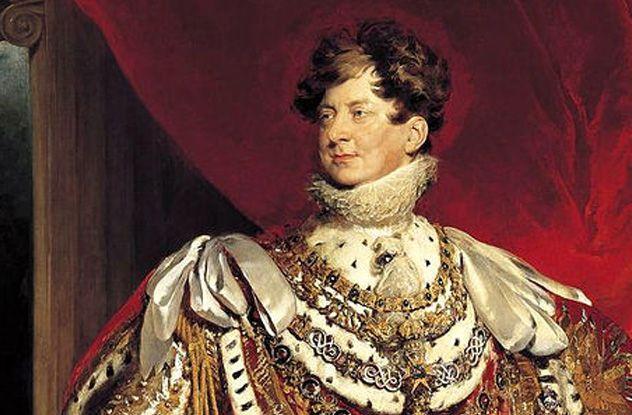 House of HANOVER - Rei GEORGE IV - Um dos piores monarcas da História da Grã-Bretanha. Levou uma vida extravagante e auto-indulgência. Subiu ao trono em 1820; Acumulou colecções de arte gigantes e ficou conhecido pelo seu exército de amantes. Seu estilo de vida tornou-o num homem doente que raramente saia de seus aposentos privados. O duque de Wellington e um cortesão do rei Charles Greville teceram palavras desprezíveis no seu obituário.