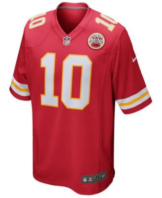 Nike Tyreek Hill Kansas City Chiefs Game Jersey, Big Boys (8-20) - Red S