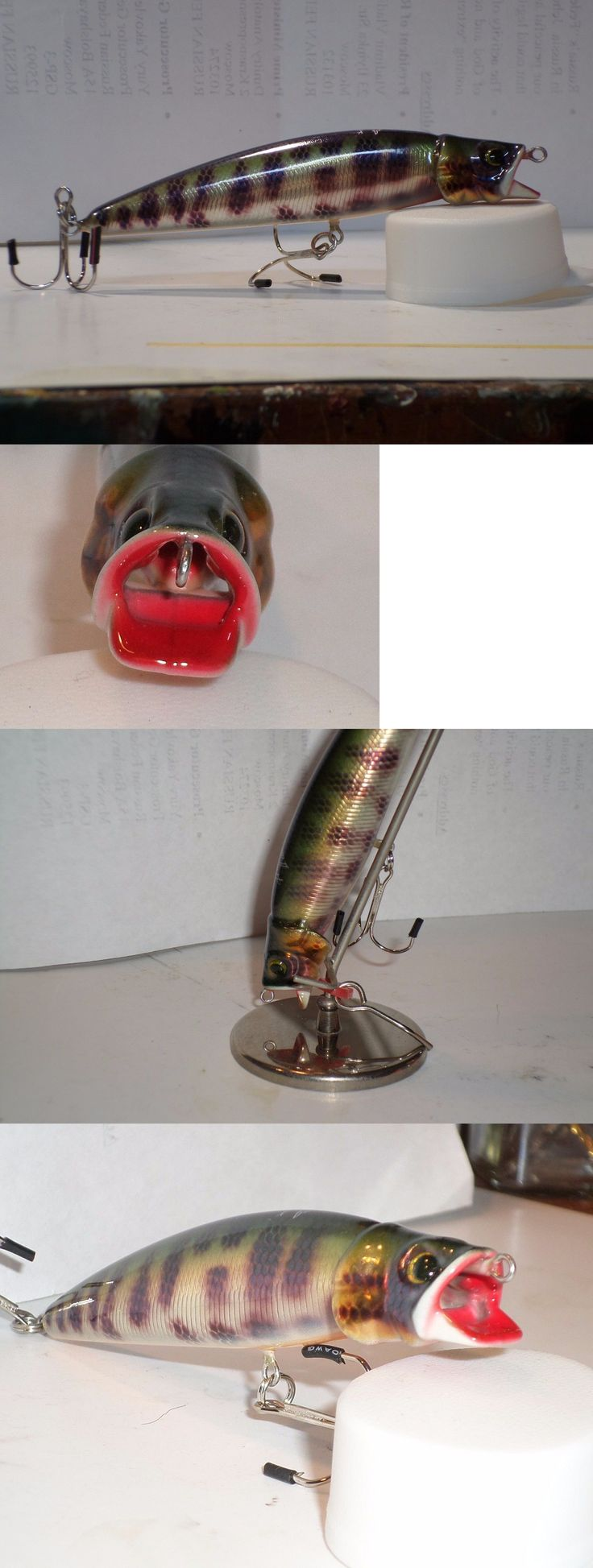 Other Baits Lures and Flies 31693: Hmng Bubble Popper Ii Duct ( #14 New 9Yrs Old Never Used Beautiful Lure 4 Inchs -> BUY IT NOW ONLY: $50 on eBay!
