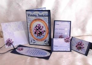 Wedding Blue on Craftsuprint - View Now!