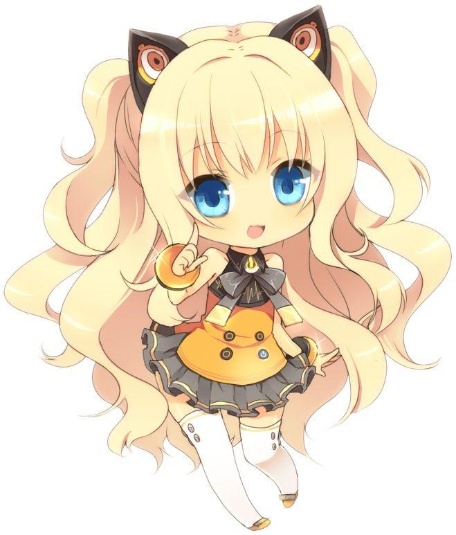 Kitty Chibi Anime