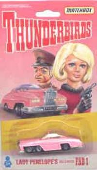 Do you remember who drove this cool pink Rolls Royce? If not, you are not a Thunderbirds fan.