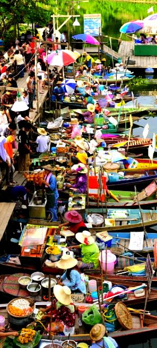 Hat Yai - Thailand Floating market