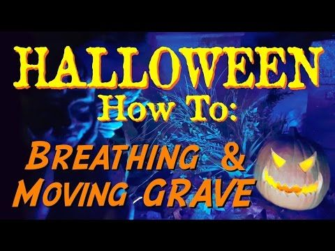 halloween how to breathing moving grave youtube - Youtube Halloween Crafts