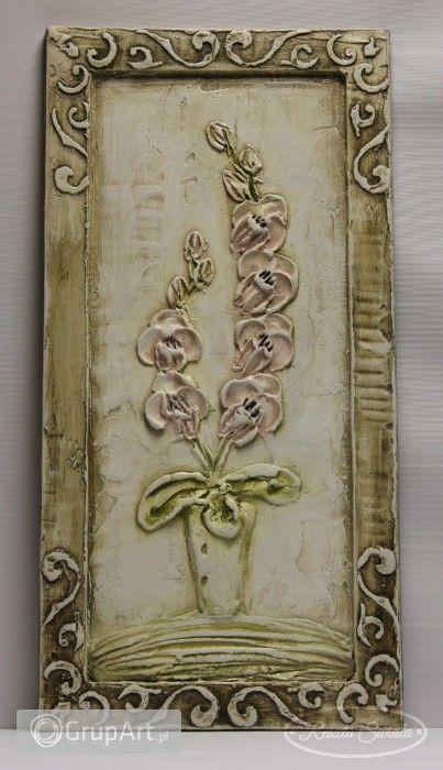 Grupart.pl - Obraz płaskorzeźba gipsowa - Na ścianę - Obrazy