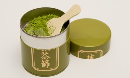 Coffee Tin Canisters, Green Tea Matcha Sifters, and Sushi Canisters