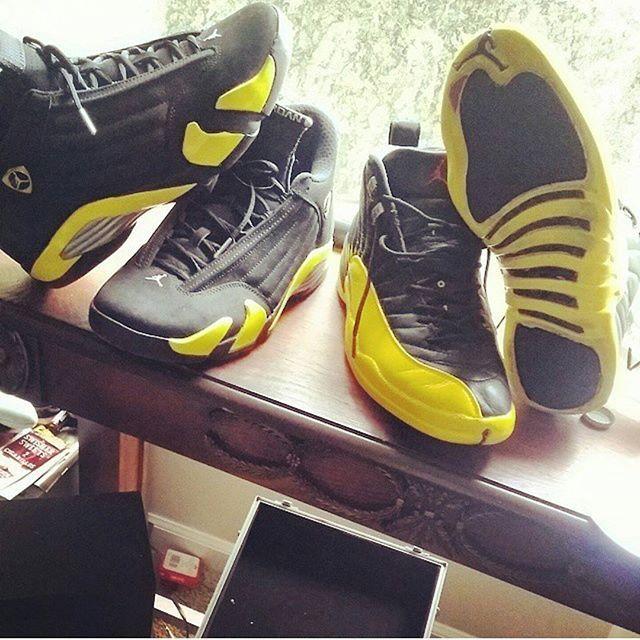 Thunder 12 custom did bout a yr ago #Angelus #AngelusDirect #Morkicks  #Sneakerfiles
