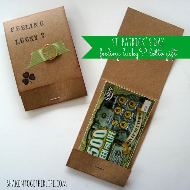 125 Best Images About St Patricks Day Gift Ideas On