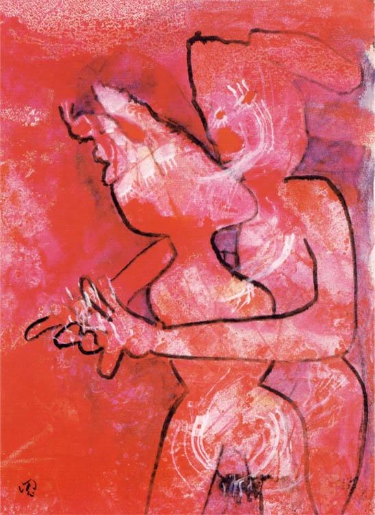 """Matta  """"Tutti Frutti""""  1993 (93/4)  100 x 74 cm."""