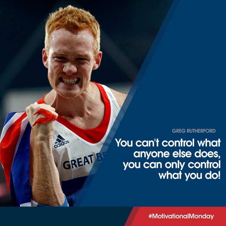 Olympic, World, European and Commonwealth long jump Champion, Greg Rutherford shares a little wisdom.
