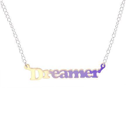 #Dreamer Necklace in Multicolour