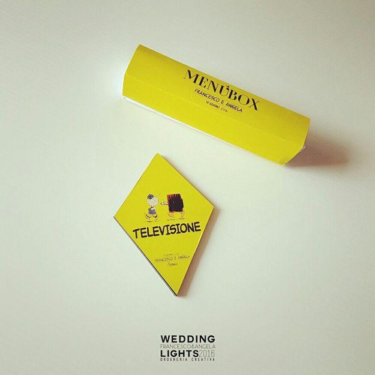 #salerno #wedding #peanuts #box #menú