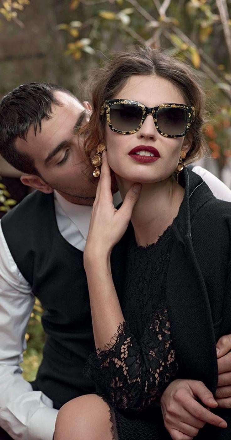 dolce gabbana ad sunglasses campaign fw 2014