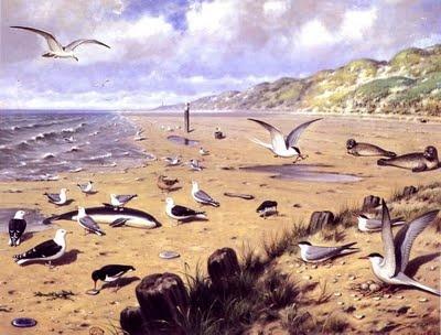 M.A. Koekkoek (1873-1944), Aan het strand