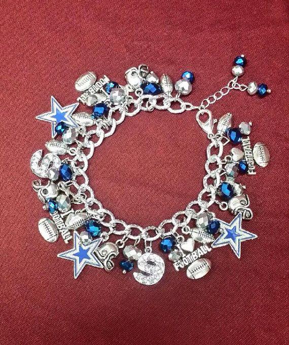 Dallas Cowboys Chunky Charm Bracelet With Tony Romo 9 Pinterest And