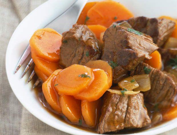 Bœuf carottes (A l'auto-cuiseur), Voir la recette du Boeuf carottes (A l'auto-cuiseur)