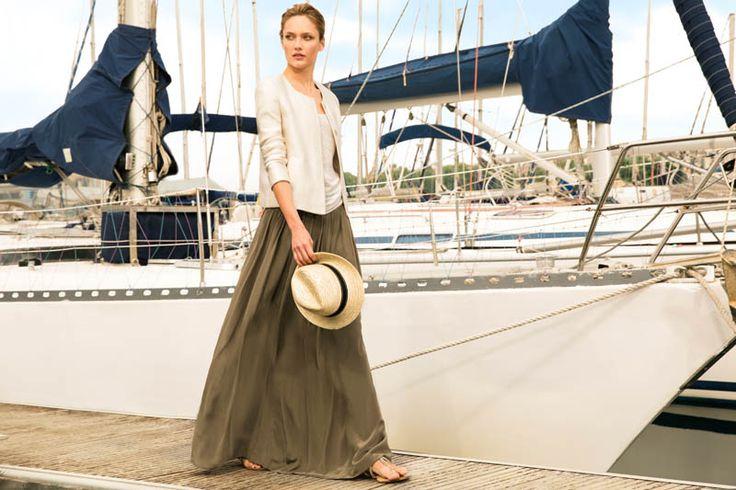 Karmen Pedaru Fronts Massimo Dutti June 2013 Lookbook | Fashion Gone Rogue
