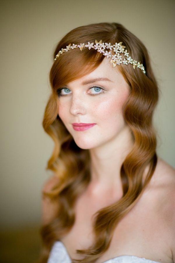 Wavy wedding hair: http://www.stylemepretty.com/2016/04/19/breathtaking-photography-from-craig-paulson-photography/ Photography: Craig Paulson - http://cpaulson.com/ Makeup & Hair: SB Beauty - http://sb-beauty.com/