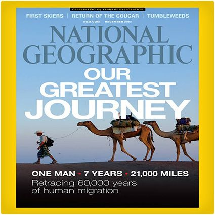 National Geographic Magazine Subscription  Would be a good gift for dad