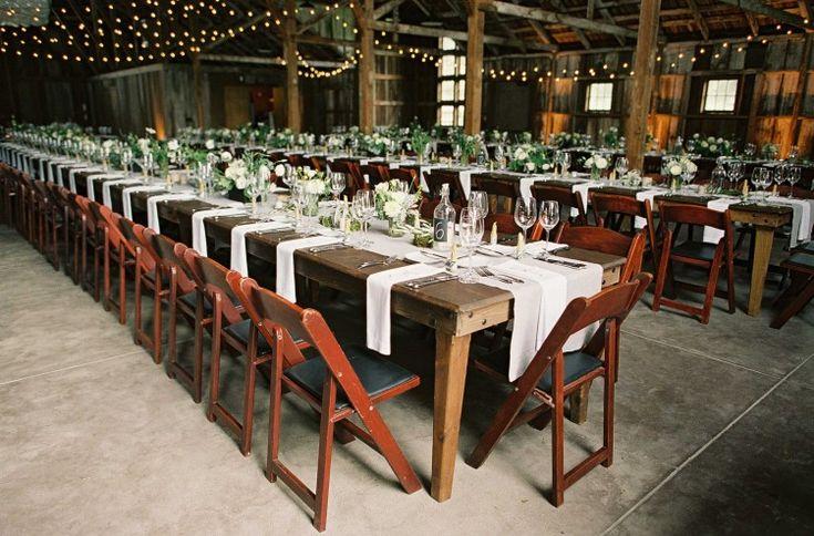 Santa Lucia Preserve wedding table setting