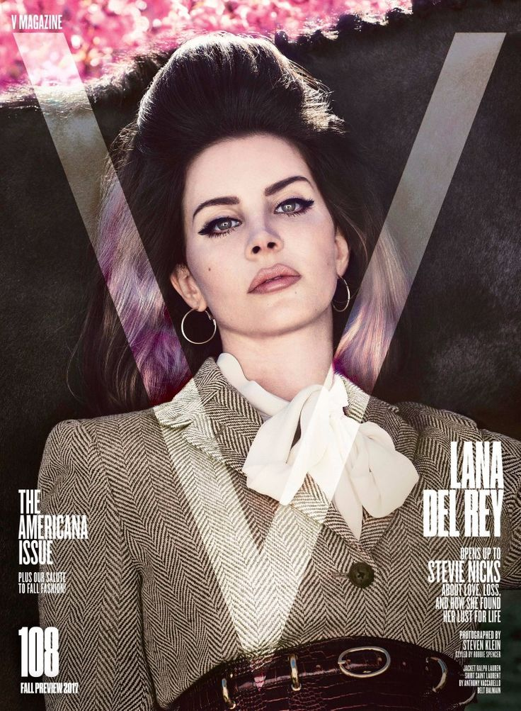 Lana Del Rey covers the latest issue of V Magazine (photographed by Steven Klein and interviewed by Stevie Nicks!) #LDR