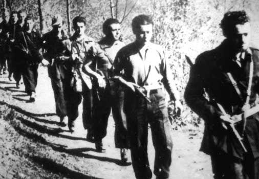 Partigiani Italiani, the Italian Resistance.