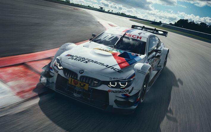Hämta bilder 2017 bilar, BMW M4 DTM, raceway, sportcars, BMW, tyska bilar