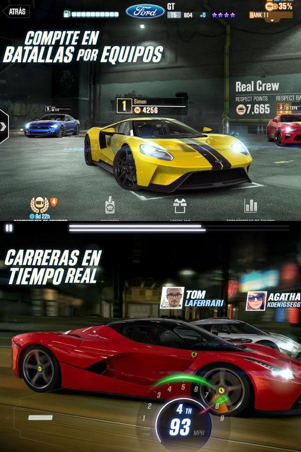 Csr Racing 2 Apk Mod Juegos De Carreras Juegos Para Moviles Carreras
