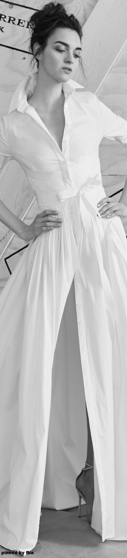 Carolina herrera black and white wedding dress