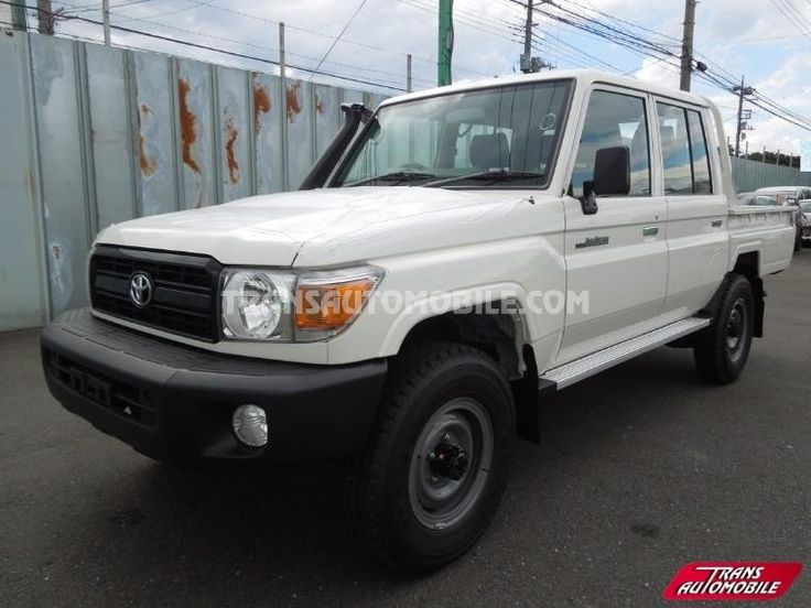 RHD - Pick-up Toyota Land Cruiser 79 Pick up 4.2L HZJ 79 Double cabin RHD 4X4 Brand new (to sale)