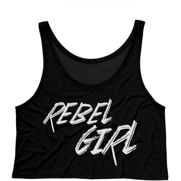 Rebel Girl Boxy Crop Tank Hipster Shirt 90s Shirt Grunge Shirt 90s... ($15) ❤ liked on Polyvore featuring tops, black, tanks, women's clothing, loose tank top, loose fitting tanks, boxy shirt, loose fitting tank tops and grunge shirts