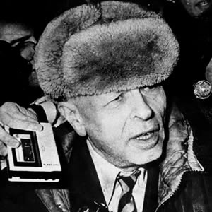 Andrei Sakharov. The man who created the hydrogen bomb in the 1950s became one of the biggest critics of the Soviet Union by the 1970s. He challenged an empire - and paid for it - by being publicly attacked, exiled, physically & psychologically tortured. A great man, one I will always look up to.